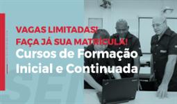 CURSOS DE FORMAÇÃO INICIAL E CONTINUADA