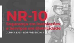CURSO DE NR10 - SEGURANÇA EM INSTALAÇÕES E SERVIÇOS EM ELETRICIDADE